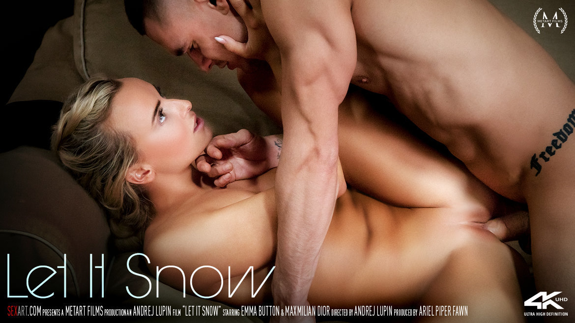 Sex Art - Let It Snow (2018) - Emma Button & Maxmilian Dior - 4K UltraHD 2160p