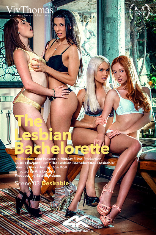 [VivThomas.com / MetArt.com] The Lesbian Bachelorette Episode 3 - Desirable