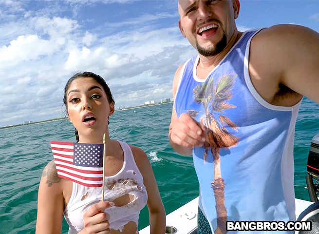 [Bang Bros Clips] Cuban Hottie Gets Rescued at Sea 4K UltraHD 2160p