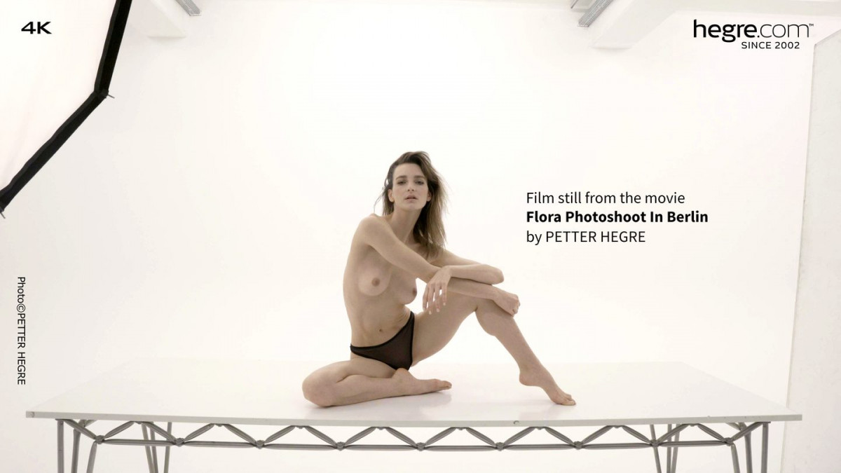 [Hegre] Flora Photoshoot In Berlin 4K UltraHD 2160p