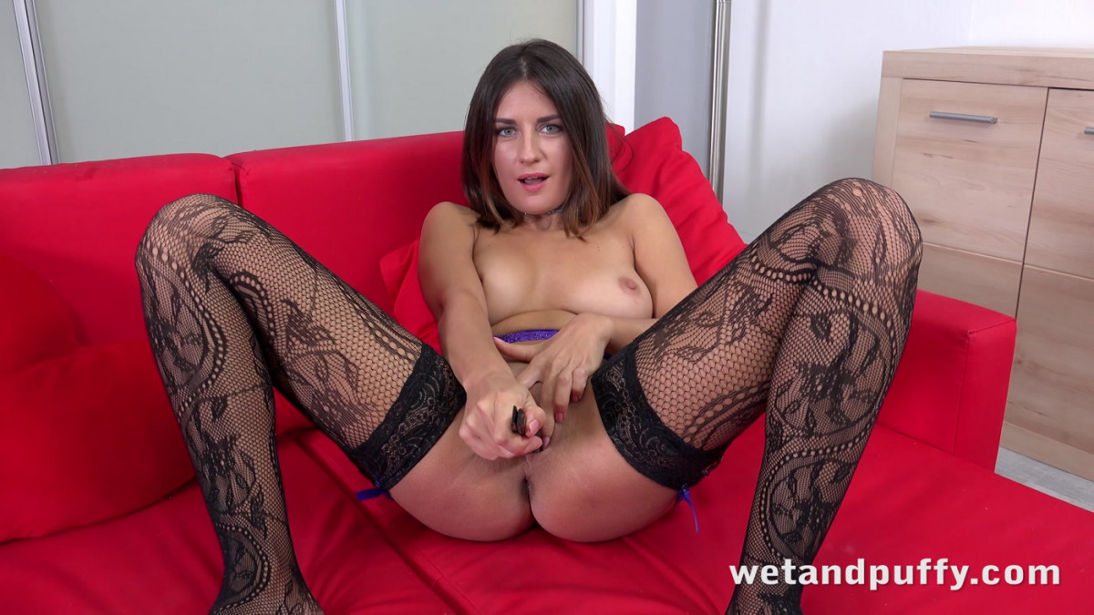 [Wet And Puffy] Stockings and Suspenders 4K UltraHD 2160p