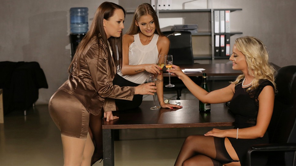 Dorcel Club - COLLEAGUES' FRIENDSHIP ENDS UP GROPING - Tiffany Tatum, Victoria Pure, Blue Angel - 4K UltraHD 2160p