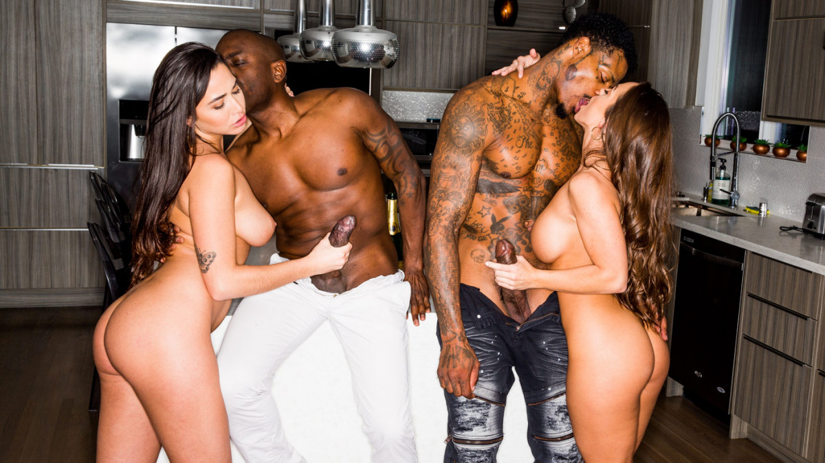 Blacked Raw - Forget Your BF - Karlee Grey, Abigail Mac, Joss Lescaf & Jason Luv - 4K UltraHD 2160p