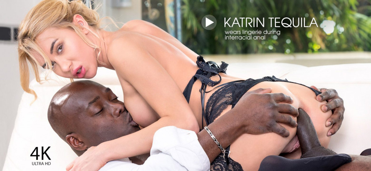 Private - Katrin Tequila wears lingerie during interracial anal - Katrin Tequila - 4K Porn UltraHD 2160p
