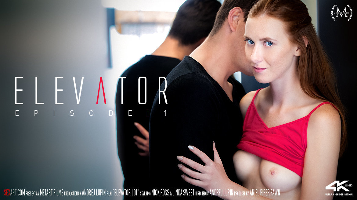 Sex Art - Elevator Part 1 (2018) - Linda Sweet & Nick Ross - 4K UltraHD 2160p