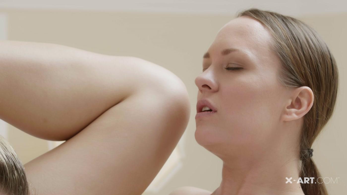 X-Art - Dripping Wet Sauna Sex - Lesbian Sex - Leila -6839