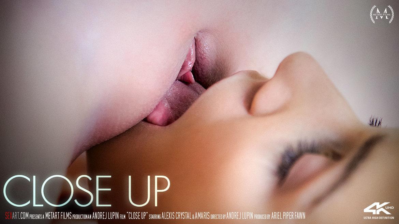Sex Art - Close Up (2018) - Lesbians Porn - Alexis Crystal & Amaris - 4K Porn 2160p