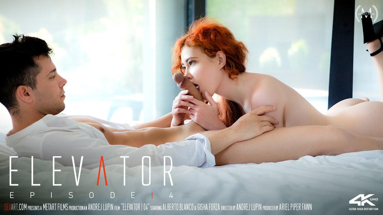 elevator sex video