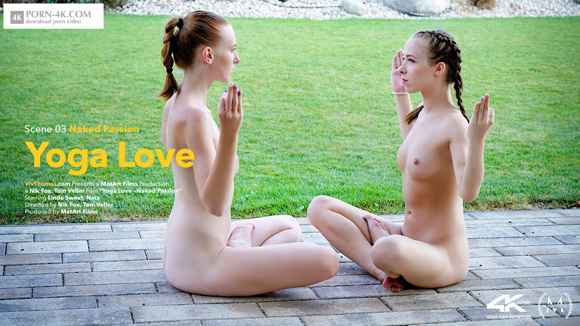 Viv Thomas - Yoga Love Episode 3 - Naked Passion (2018) - Lesbisn Glamour Girls Sex HD 4K - Linda Sweet & Nata