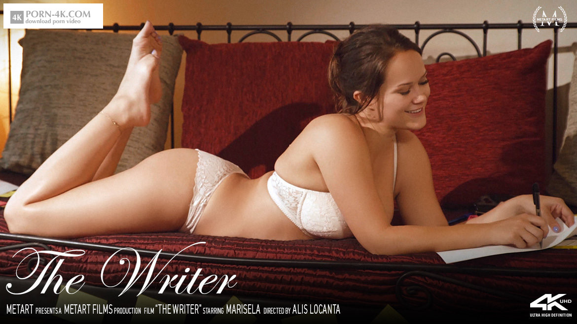 Met-Art - The Writer (2018) - Glamour Girls HD 4K - Marisela
