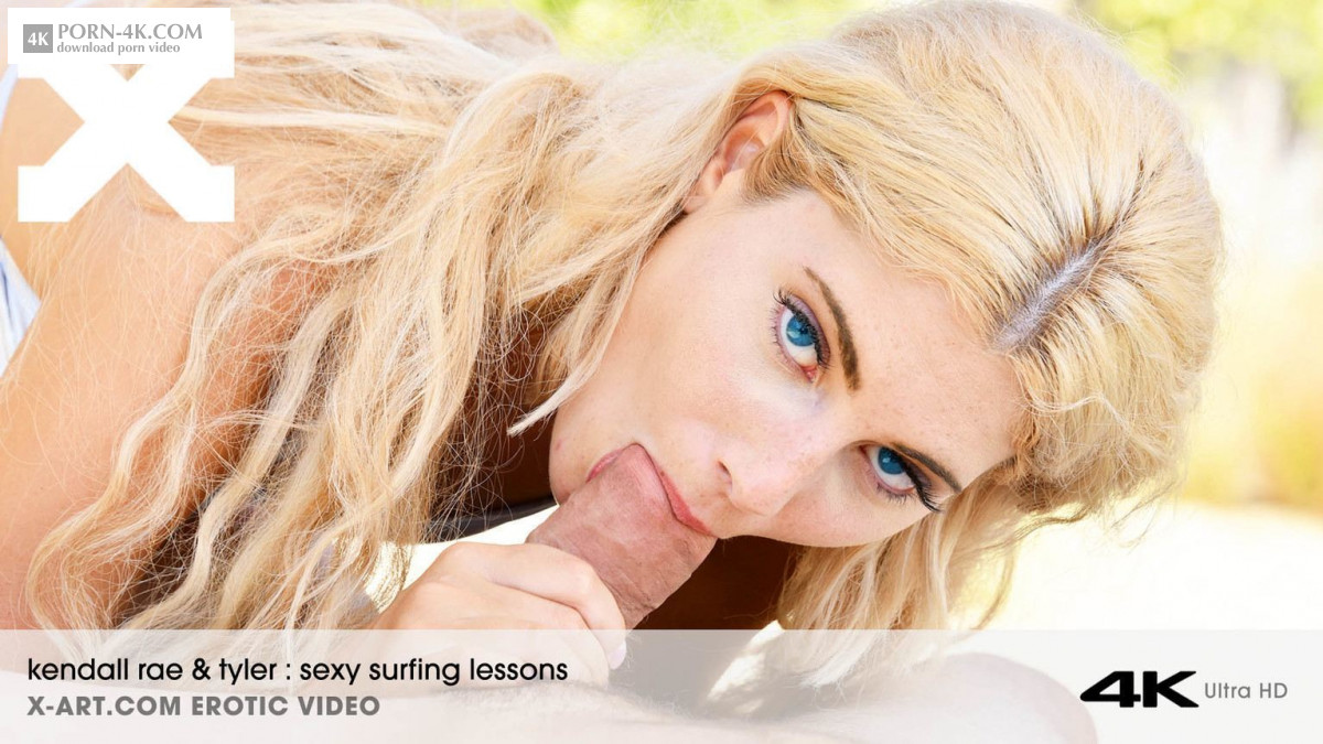 X-Art - Sexy Surfing Lessons (2018) - Glamour Girls Sex HD 4K - Kendall Rae