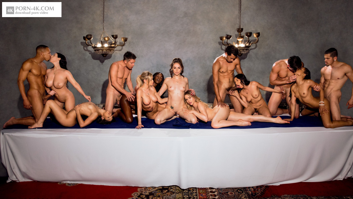 Vixen - After Dark Part 5 (2018) - Premium Group Sex HD 4K