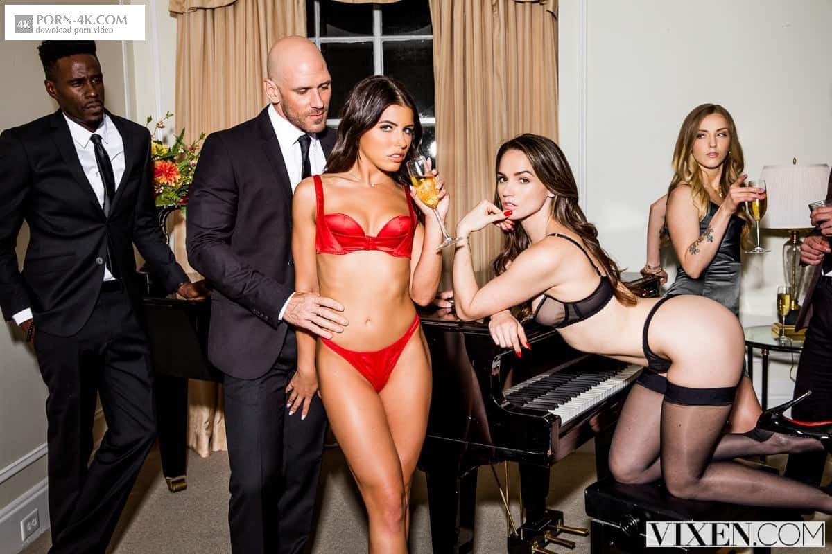 Vixen - After Dark Part 2 (2018) - Threesome Porn HD 4K - Tori Black, Adriana Chechik & Johnny Sins