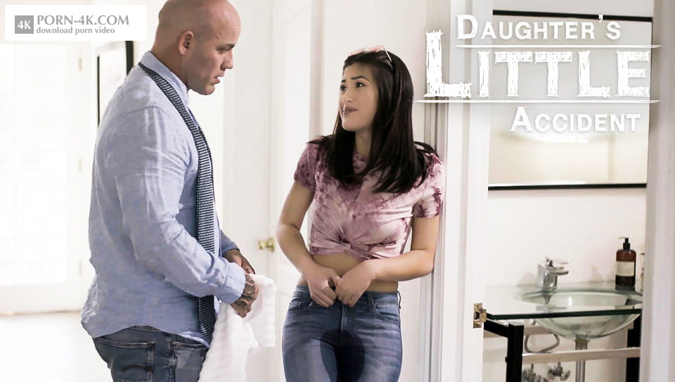 Pure Taboo - Kendra Spade - DAUGHTER'S LITTLE ACCIDENT (2018) - STEP-FATHER LECTURES HUMILIATED DAUGHTER AS SHE WETS HERSELF Porn HD 4K