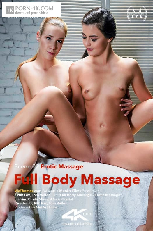 Viv Thomas - Alexis Crystal & Cindy Shine - Full Body Massage Episode 2 - Erotic Massage (2018) - Lesbian Sensual Massage HD 4K