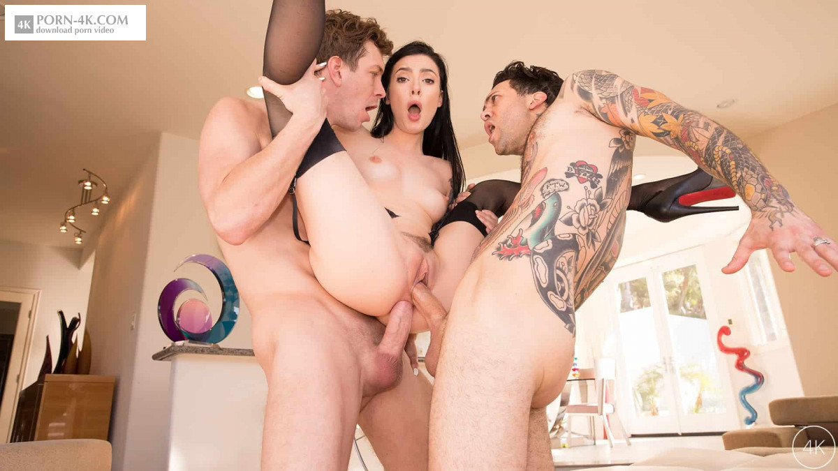 Jules Jordan - Marley Brinx Receives An Intense DP (2018) - DP Anal Porn HD 4K