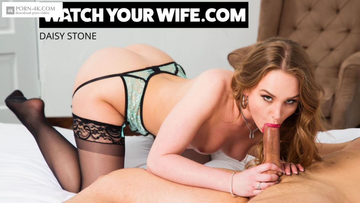 Watch Your Wife - Daisy Stone fucks her driver while her husband watches (2019) - Small Natural Tits 4K 2160p